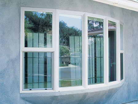 milgard white tuscany series vinyl replacement window