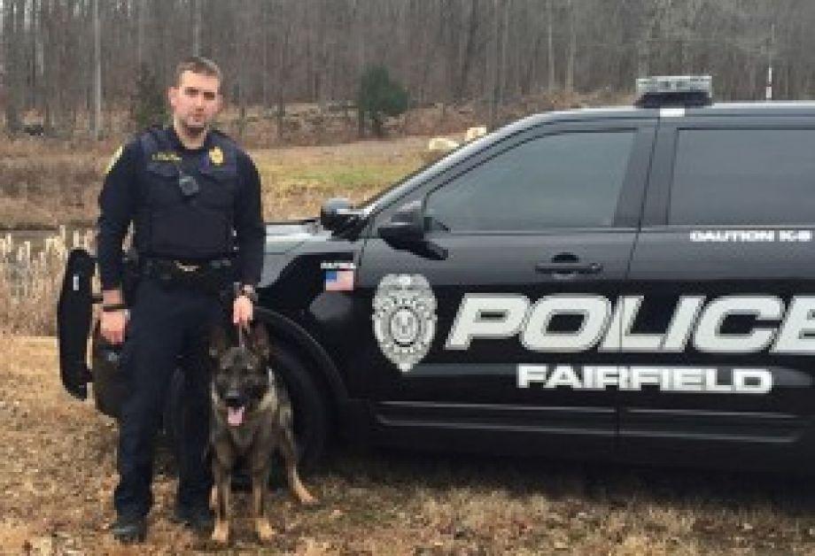 Fairfield Pd Welcomes New K9 Officers K9 Officer War Dogs Officer