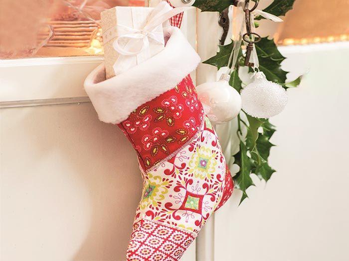 DIY-Anleitung: Weihnachtsstiefel nähen via DaWanda.com ...