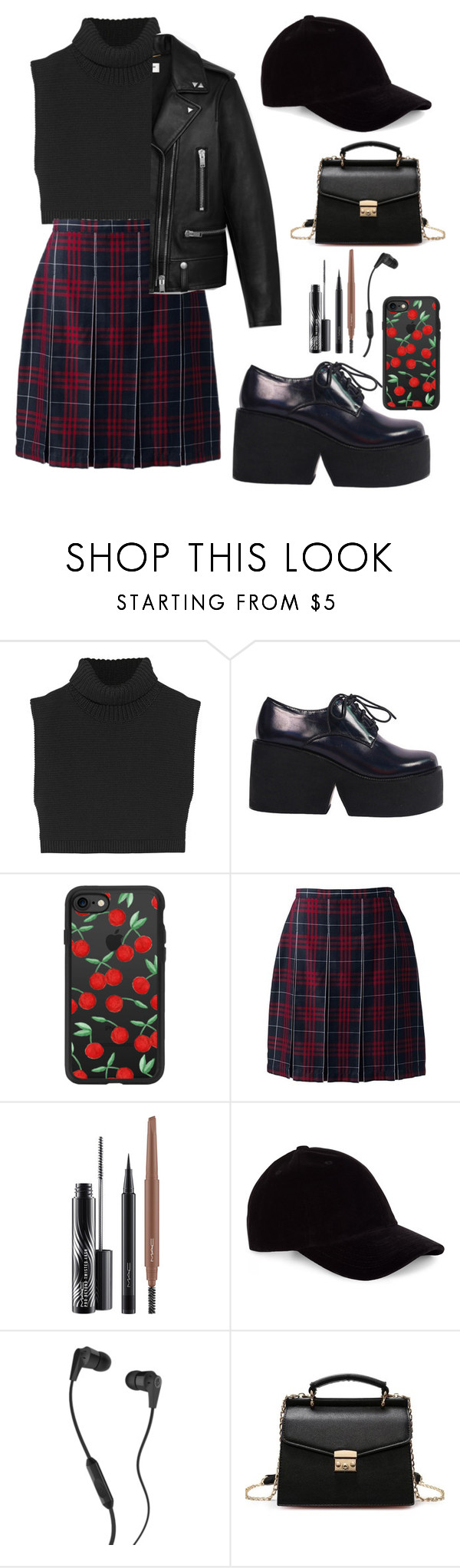 """""""Untitled #102"""" by v-bts8486 ❤ liked on Polyvore featuring Victoria Beckham, Casetify, Lands' End, MAC Cosmetics, Skullcandy and Yves Saint Laurent"""