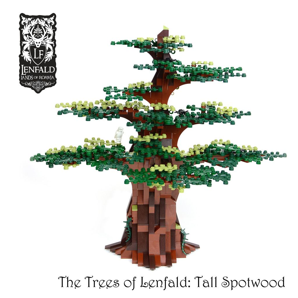 Tall Spotwood Tree Legos Lego Instructions And Lego Building