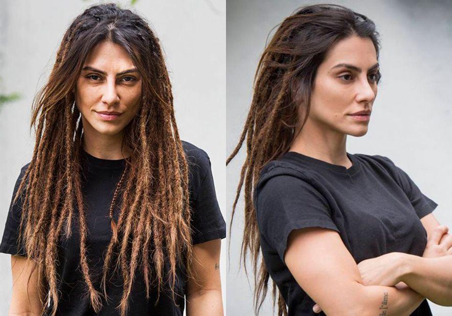 """""""Sempre quis fazer dreads"""", conta Cleo Pires que encarou 12 horas para mudar o visual"""