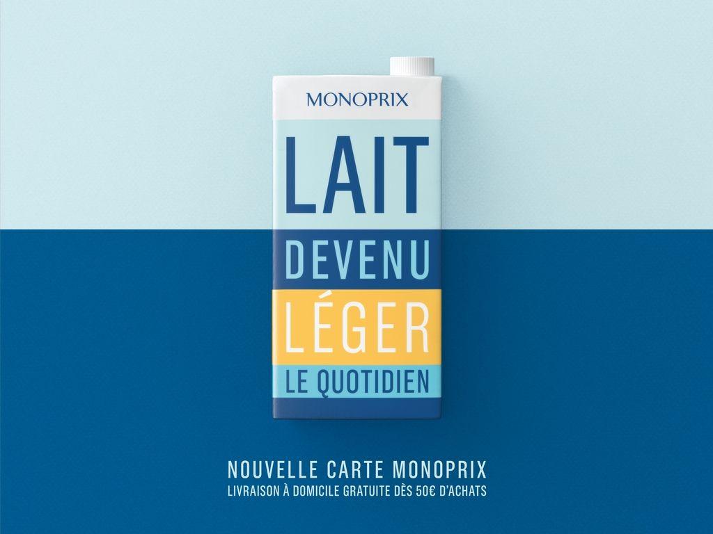 Les 9 Meilleurs Prints Francais De L Annee Monoprix Communication Marketing Carte De Fidelite