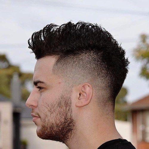 Corte de pelo de la cresta