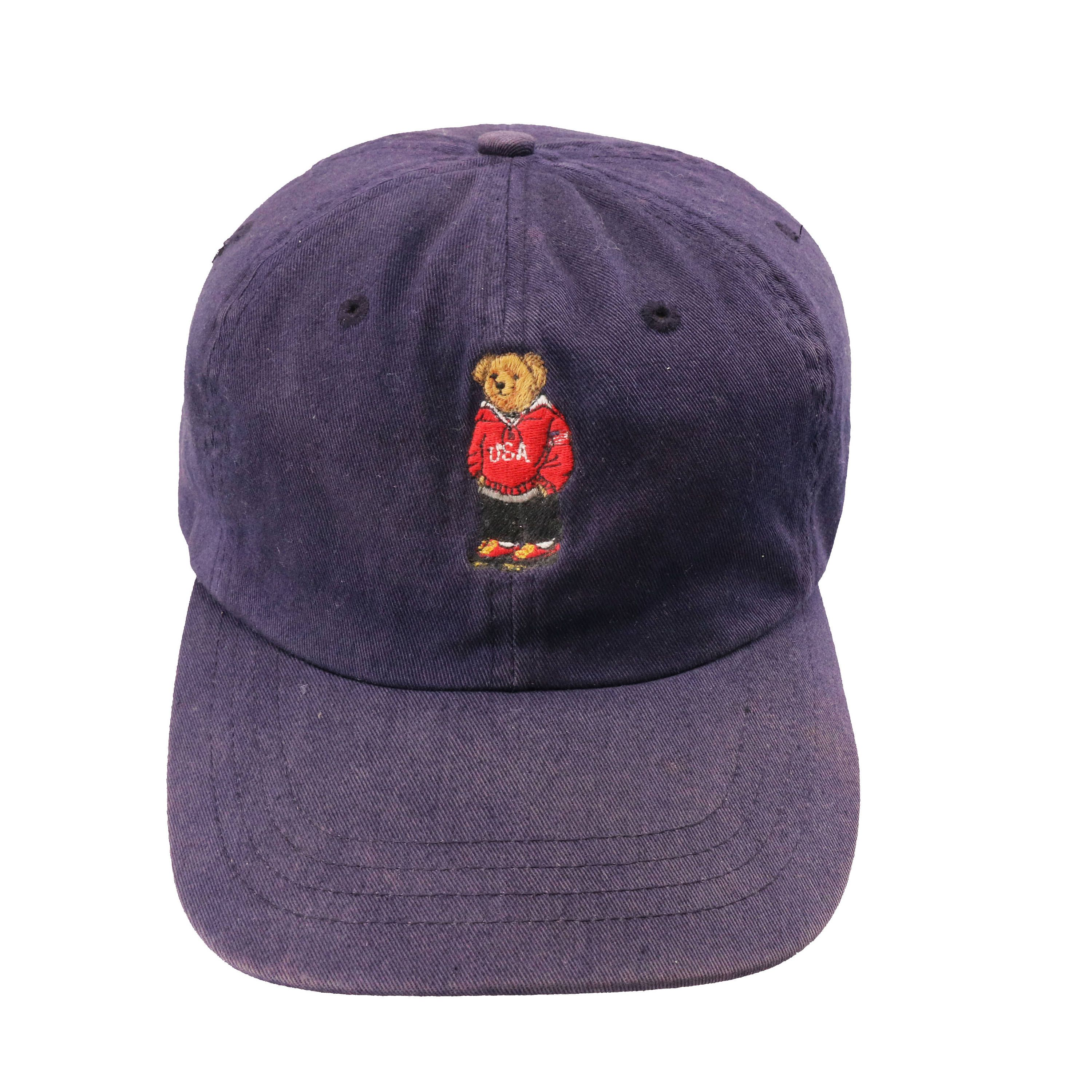 17ec189b4ddf6 Vintage 90s Polo Sport Ralph Lauren Bear Cap by HITZSHOP on Etsy