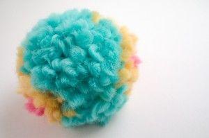pompón de lana