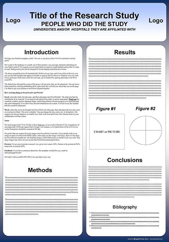 scientific poster presentation templates