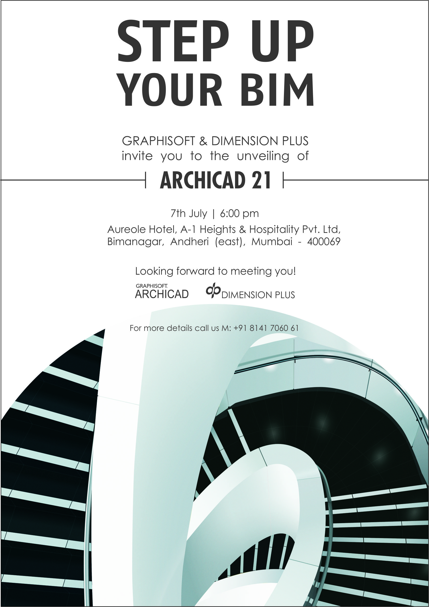 ARCHICAD 21 Launch In Mumbai on 7th July | ARCHICAD | 3d design