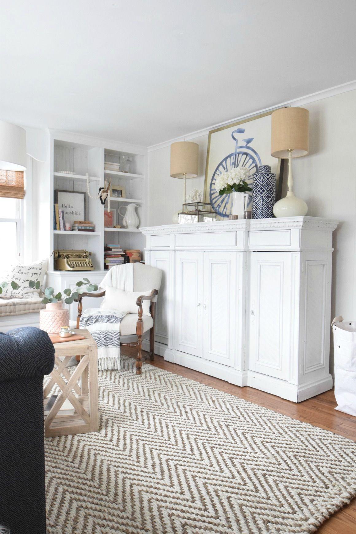Spring Home Decor Ideas  Bright Living Room Ideas