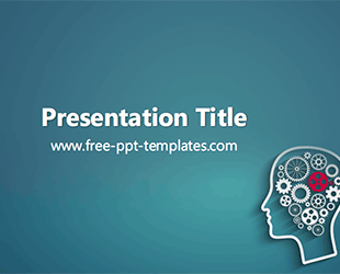 Psychology ppt template free powerpoint templates medical psychology powerpoint template is a green template with a background image of brain and gears that you can use to make an elegant and professional ppt toneelgroepblik Images