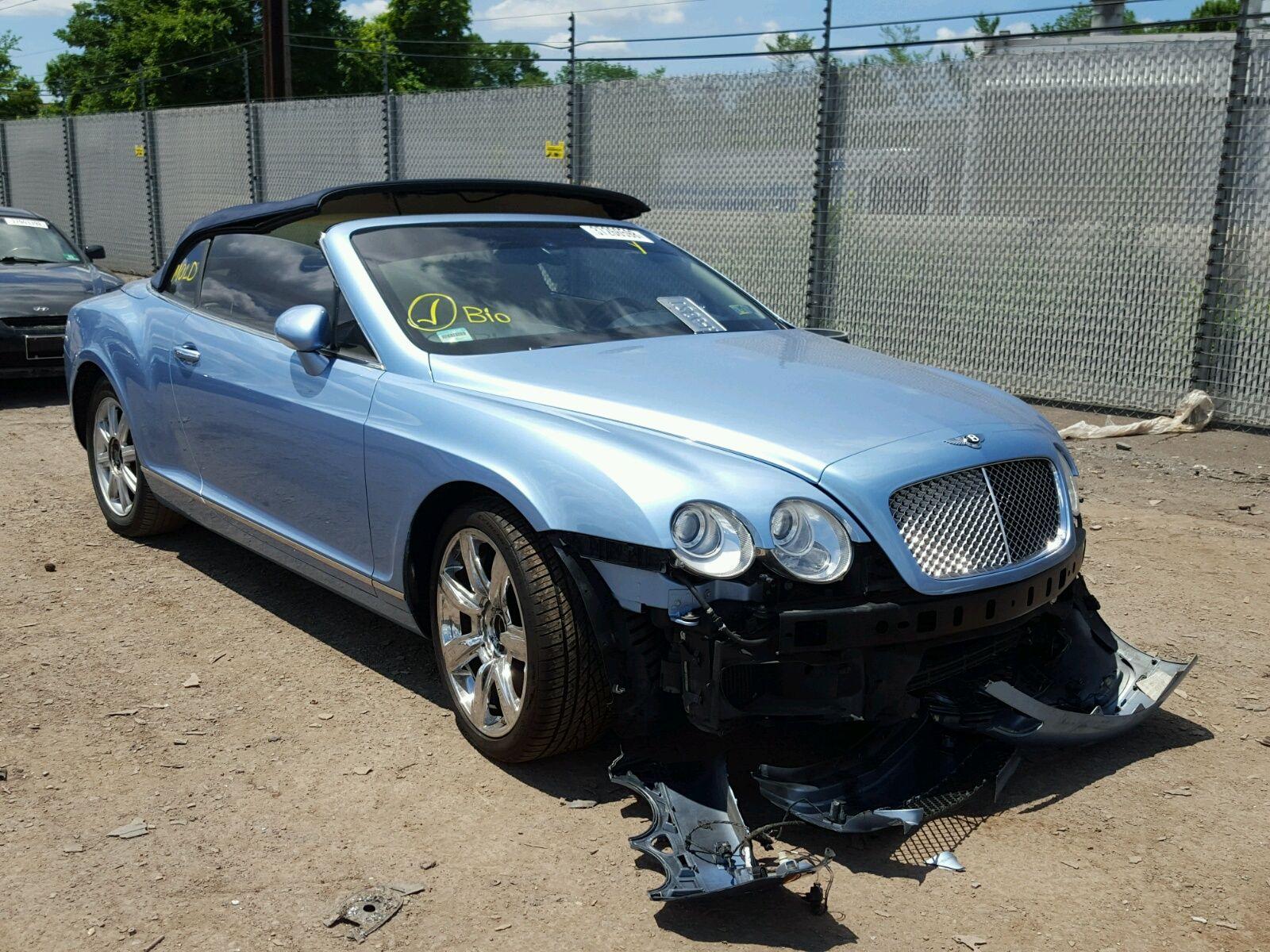 Wrecked Bentley