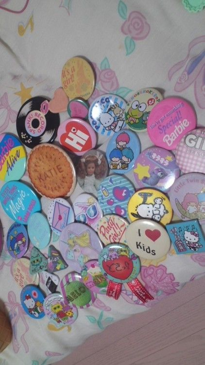 Pin collection... that takes, me back (to my craft room, where I still have mine)