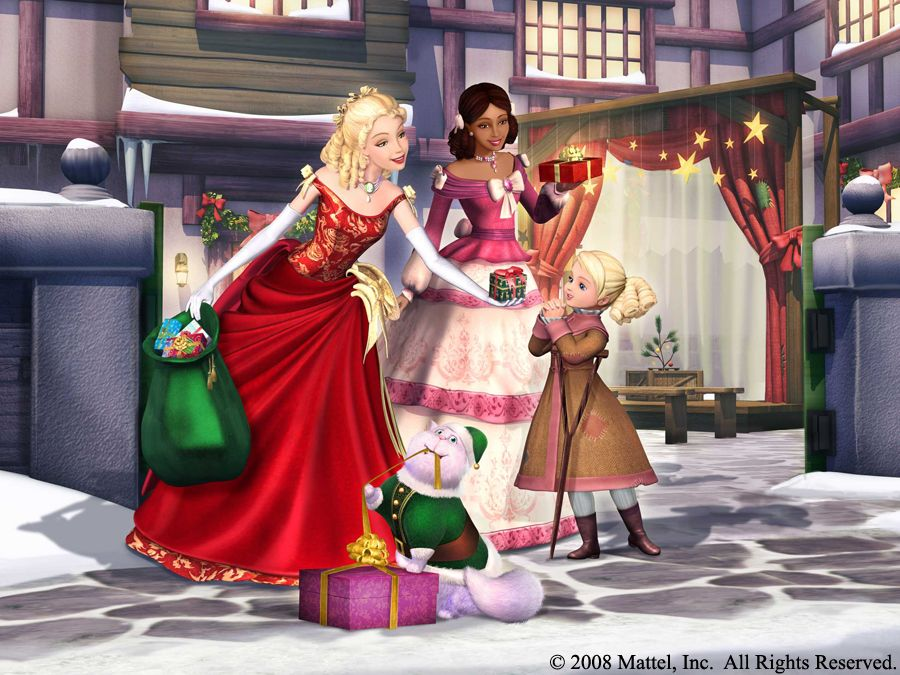 Eden Starling and Catherine and Chuzzlewit and Tammy in a Christmas Carol | Barbie movies ...