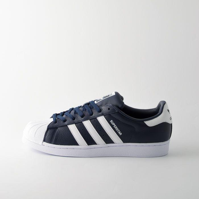 adidas superstar uomo bianche strisce blu