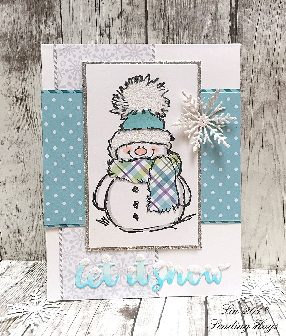 Simon Says.........Baby, It's COLD outside! Snowman