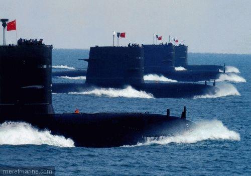 Chinese song submarines