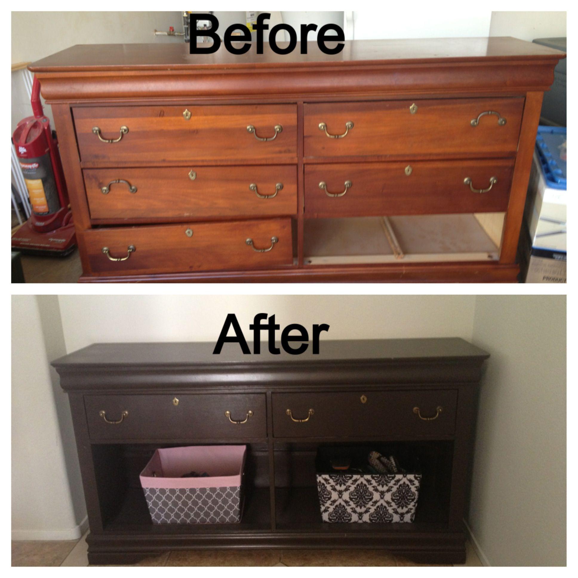 DIY Repurposed Dresser DIY Pinterest Repurposed