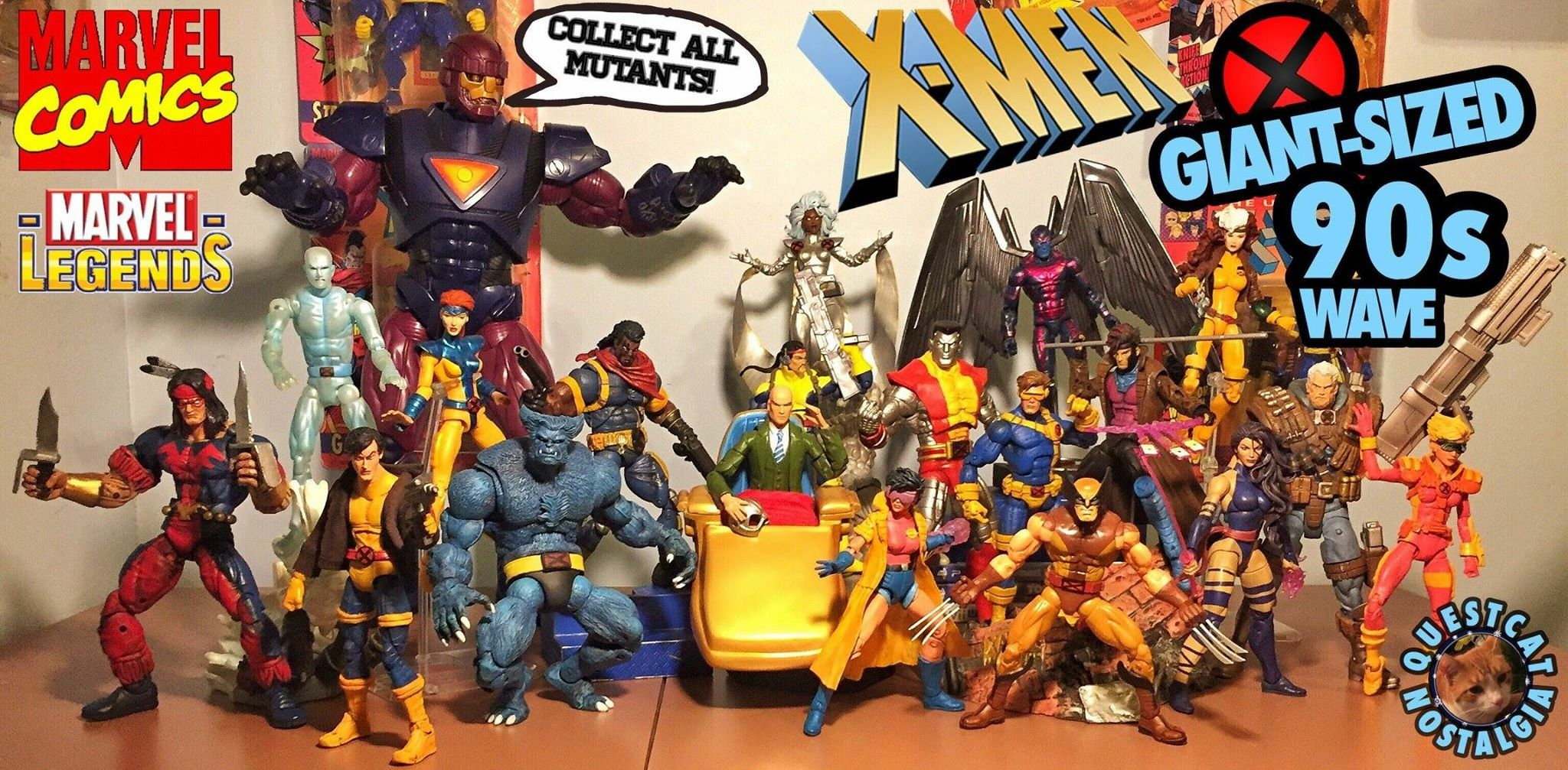 Marvel Legends X-Men 6/'/' POLARIS Warlock Wave NO BAF Hasbro New Loose