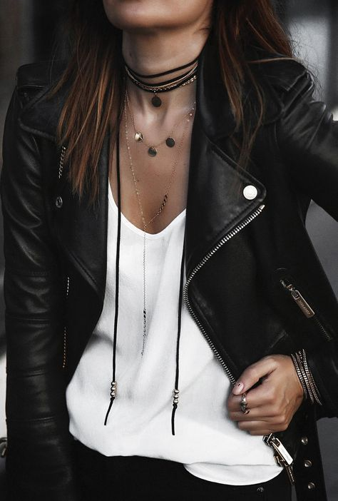 Photo of How to wear a leather biker jacket