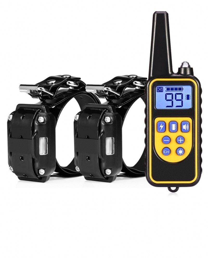 Dog Training Collar Remote Controlled Waterproof And Rechargeable