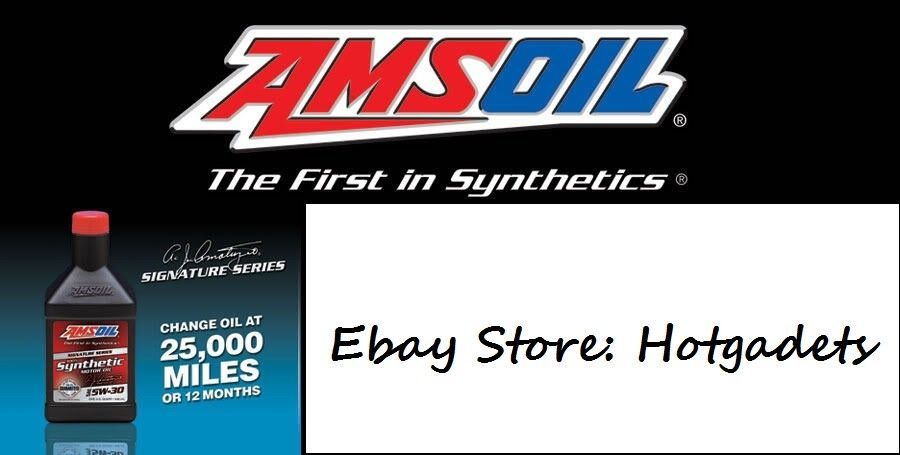 Amsoil Signature Series 5w 30 Synthetic Motor Oil 1 Gallon 25000