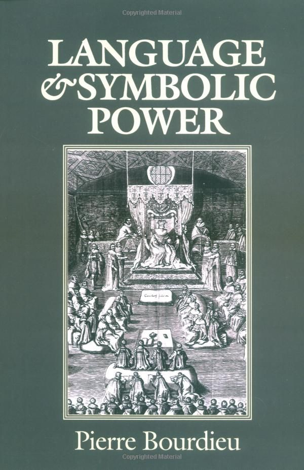 Amazon Language And Symbolic Power Pierre Bourdieu John