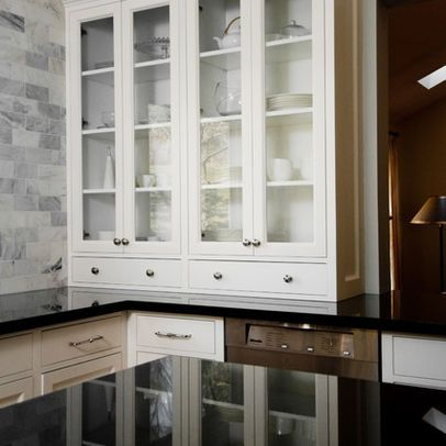 Cabinets With Drawers At The Bottom Sitting On The Counter Top Countertops Diy Countertops Kitchen Backsplash Trends