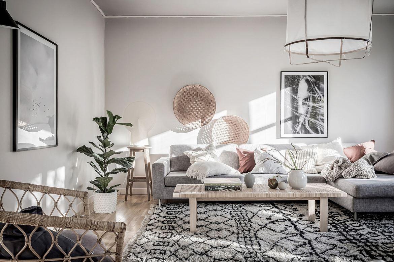 Un appartement familial en tons neutres en Suède - PLANETE DECO a ...