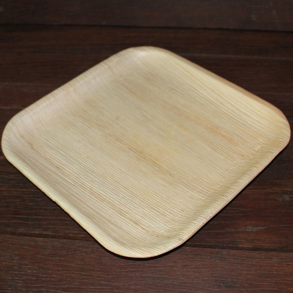 Large square areca sheath plates pack of 25 (With images