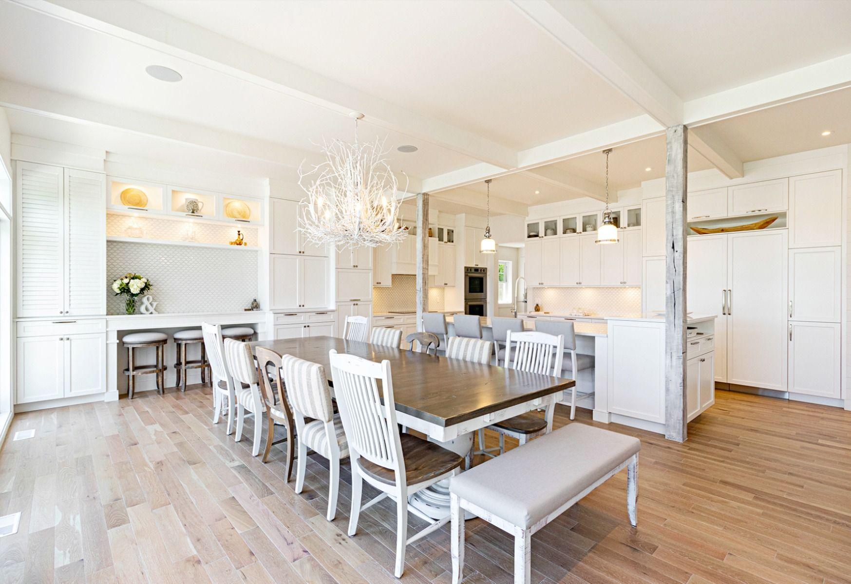 Cuisine Blanche Classique In 2020 Home Home Decor Design