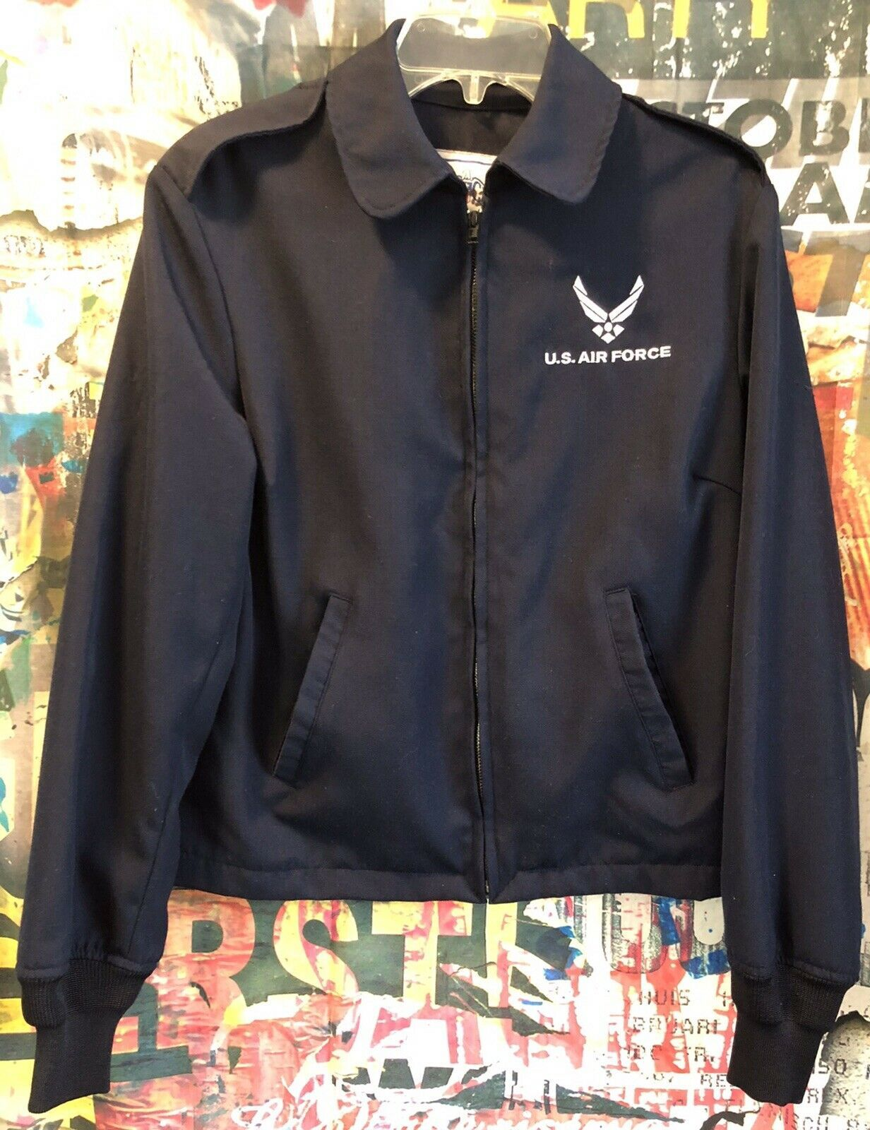 Details about US Air Force Womens Lightweight Jacket Size