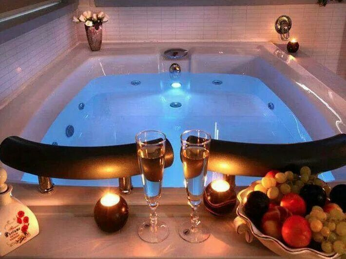 Double Bath For Couples Hot Tub Room Jacuzzi Bathtub Two