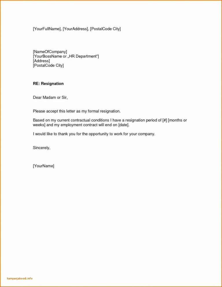 Letter Of Resignation For Retail from i.pinimg.com