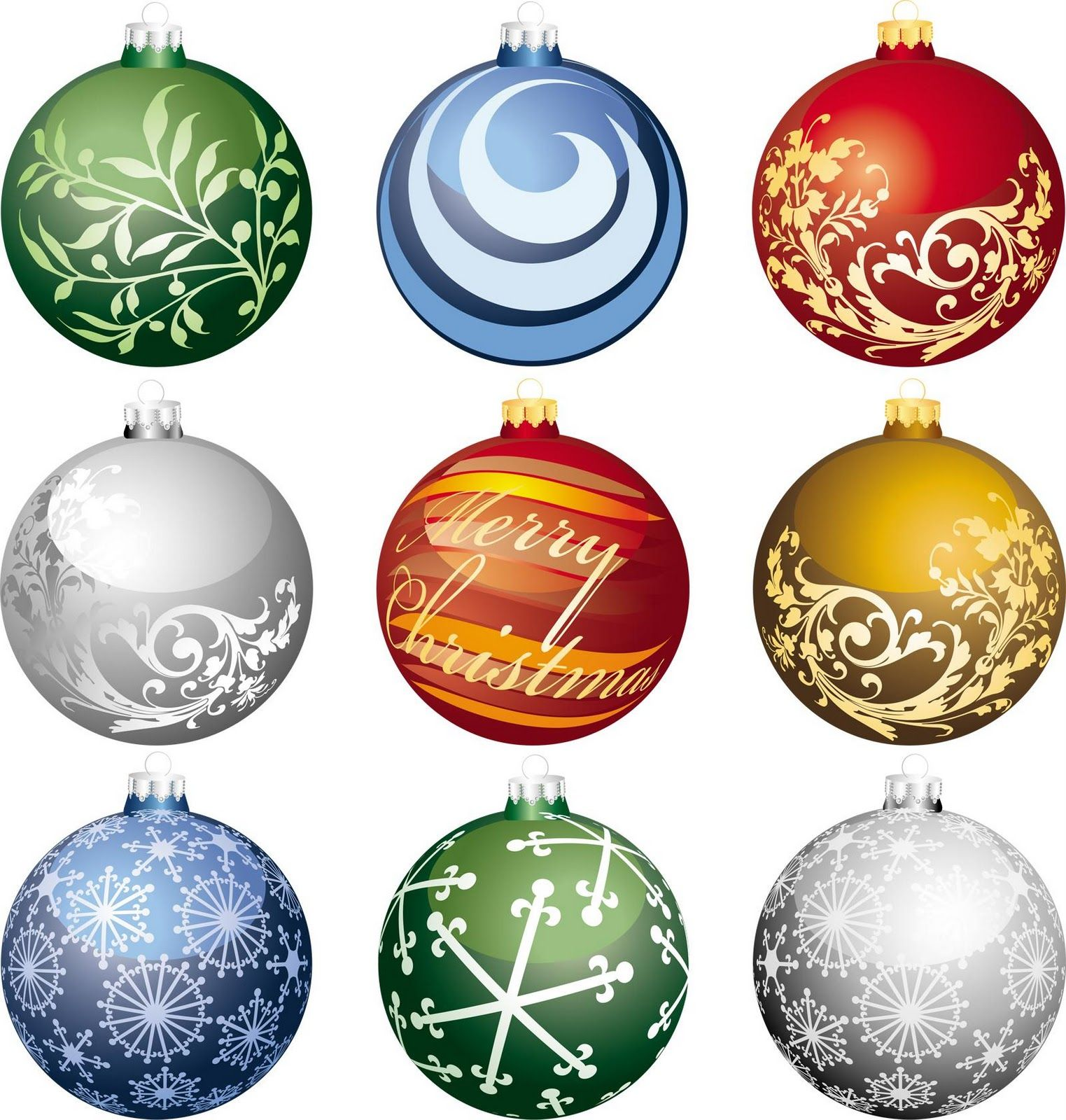 CHRISTMAS ORNAMENTS CLIP ART Christmas card crafts