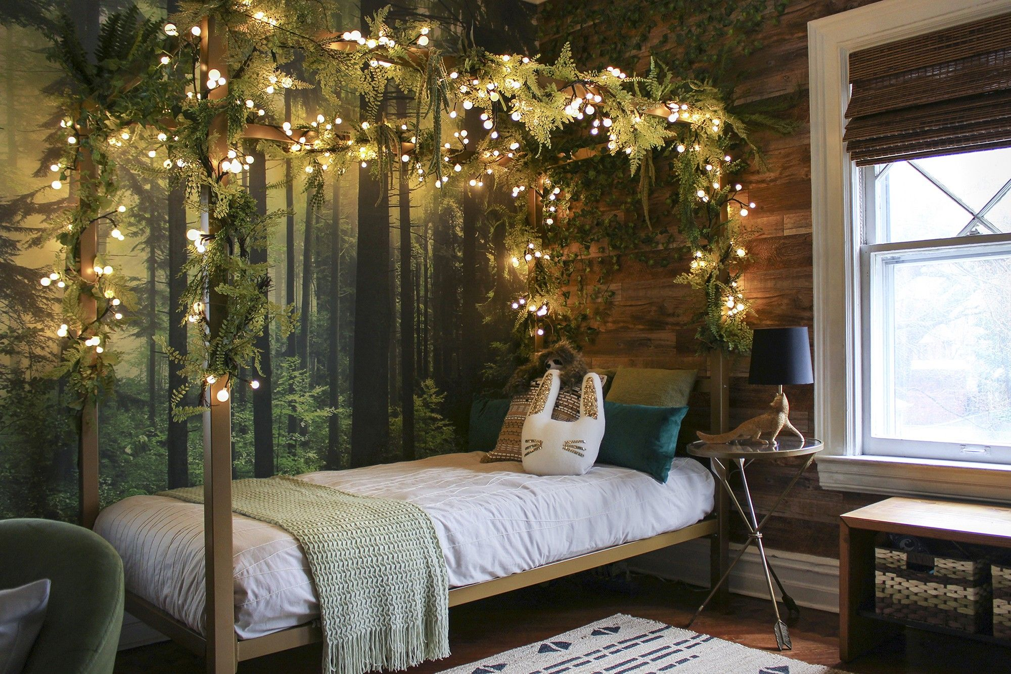 Pin By Alaina Kraft On Home Idea S In 2020 Forest Theme Bedrooms Forest Bedroom Girl Forest Room
