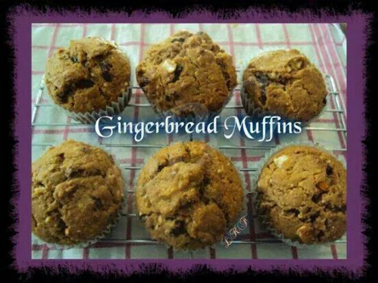 Ginger bread muffins