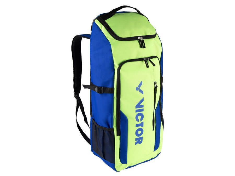 Victor Badminton Tennis Long Backpack Bag Racket Racquet Clothing Green Br6811gf Victor Badminton Bag Bags Backpack Bags