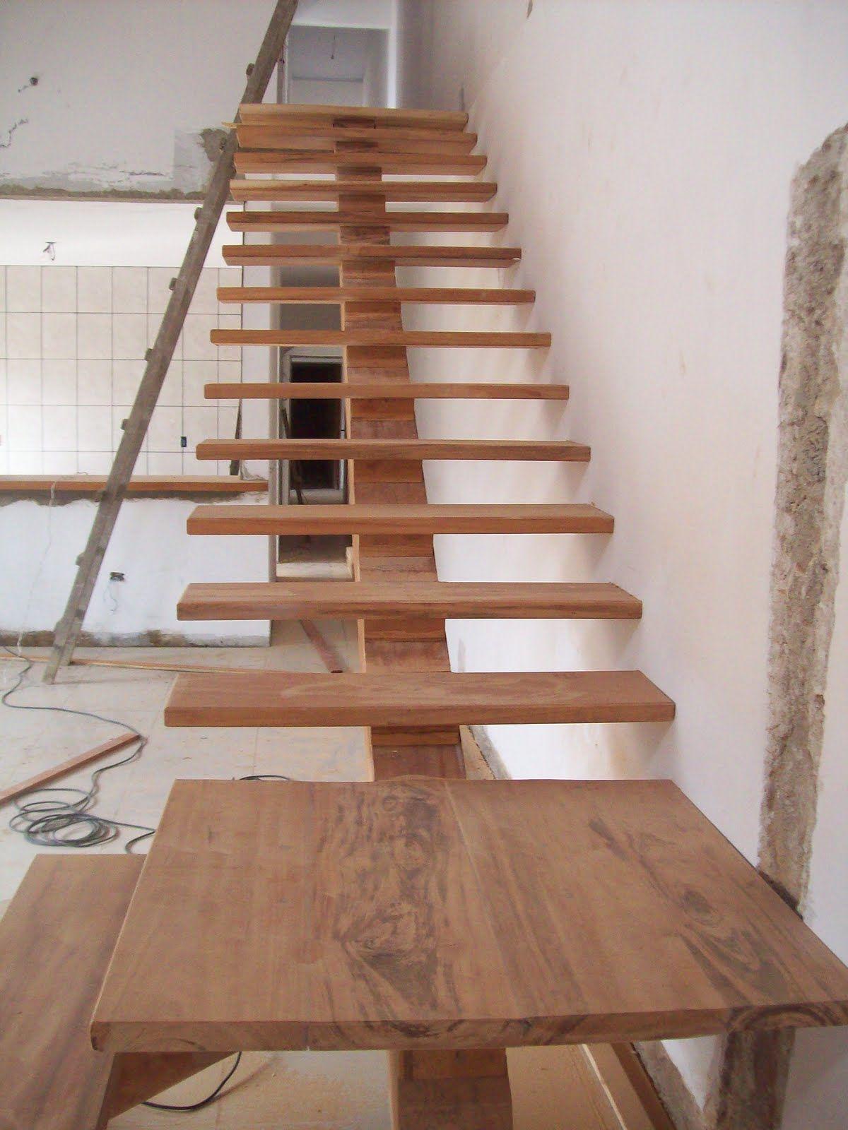 Carpintaria Naval Litoral Norte Escada De Madeira Cambar Em