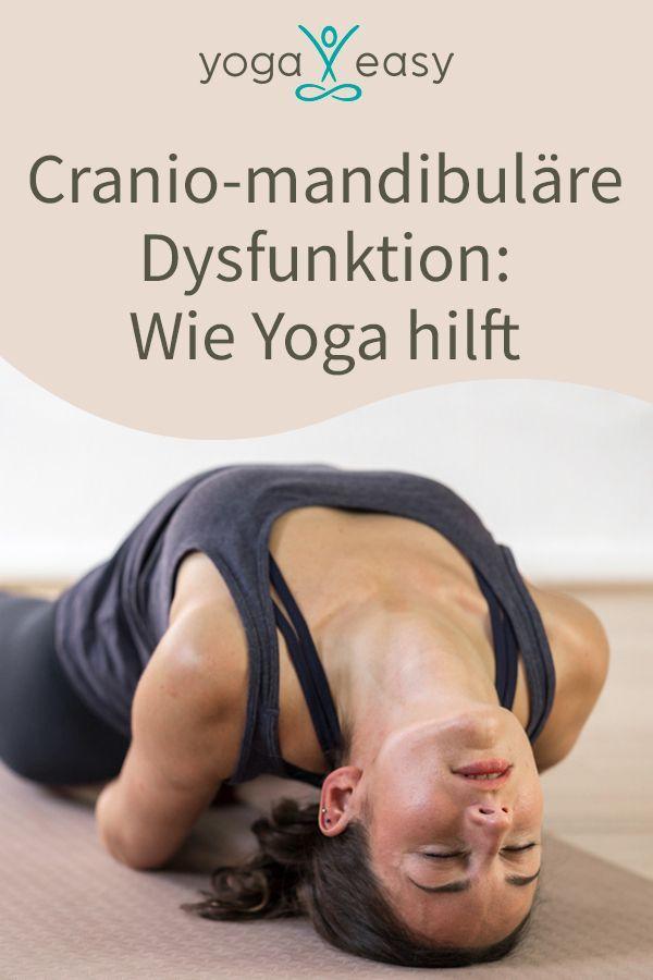 Craniomandibuläre Dysfunktion? Das klingt kompliziert – und ist es auch. Dabei sind die umfassenden Probleme im Kiefer- und Kauapparat durch CMD weit verbreitet. Wie Yoga dir helfen kann, deinen Kiefer (und auch alles andere an dir...) zu entspannen. Von Katharina Maurer #yogaeasy