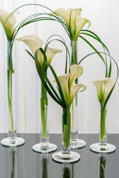 Tischdeko Fur Eine Hochzeit In Braun Grun Flowers Pinterest