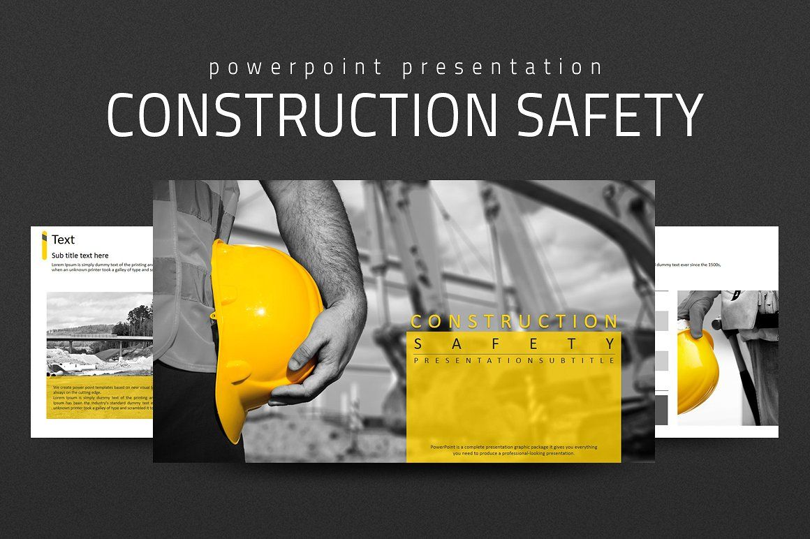 Construction Safety Ppt By Good Pello On Creativemarket
