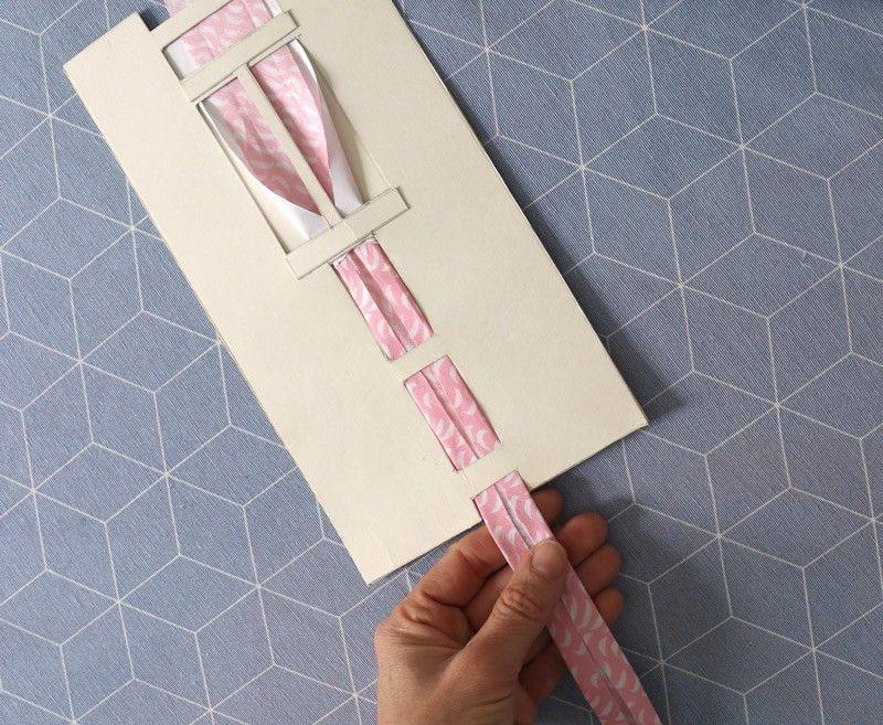 DIY appareil à biais en papier cartonné