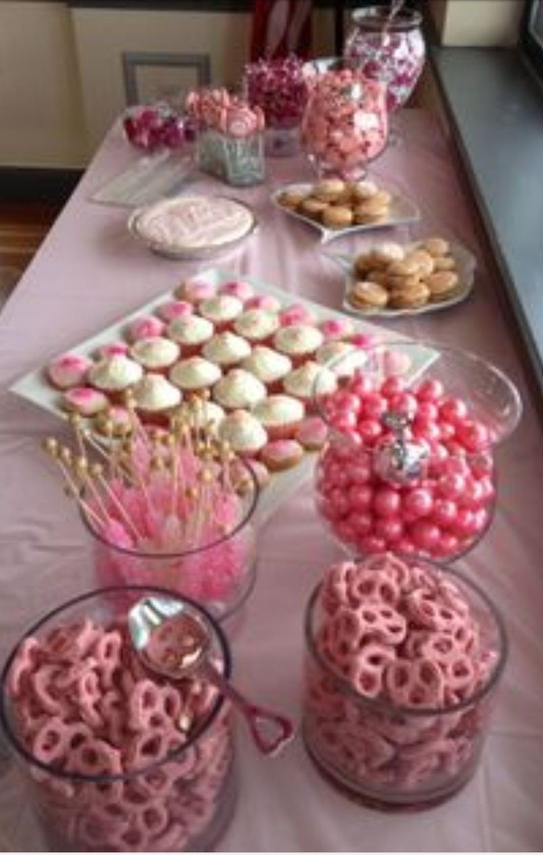 Baby shower desert ideas | Baby shower | Pinterest | Mesa ...