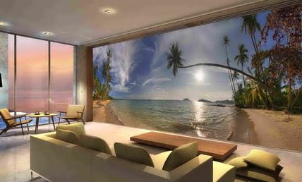 Tropical Wall Murals wall murals for home |  beach murals tropical wall murals, best