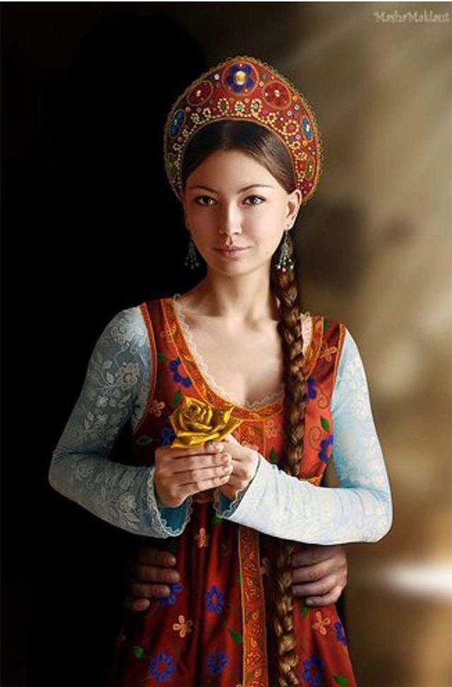 Russian girls clothing #10