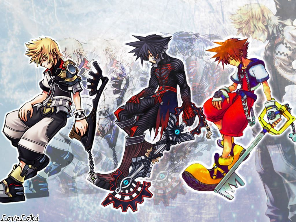 Kingdom hearts iphone wallpaper tumblr - Hd Wallpaper And Background Photos Of Ventus Vanitas Sora Roxas For Fans Of Kingdom Hearts Images