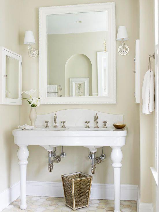 Traditional Diy Bathroom Vanity Bathroom Design Decor Vintage Bathroom Decor
