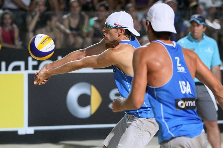 Us Beach Volleyball Team Lds Bountiful Native And University Of Utah Alum Jake Gibb Who Lives In Costa Mesa Ca Volleyball Team Olympic Team Beach Volleyball