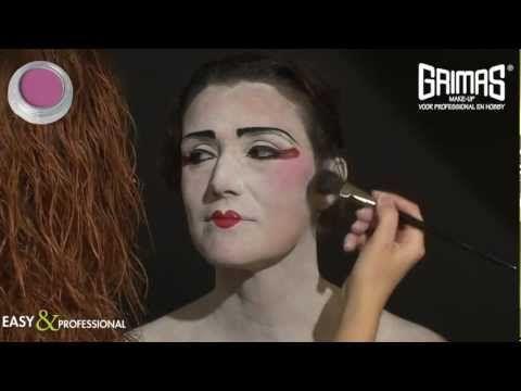 ▶ GEISHA MAKEUP/MAQUILLAJE GEISHA - YouTube