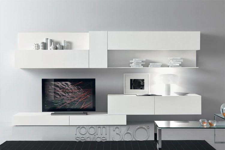 Modus 70 Ultra Modern Wall Unit By Presotto #18482 · Living Room Furniture  DesignsModern ...